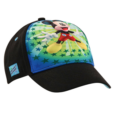 Disney Little Boys Mickey Mouse 3D Pop Character Baseball Cap, Age 4-7 - The Accessories Outlet