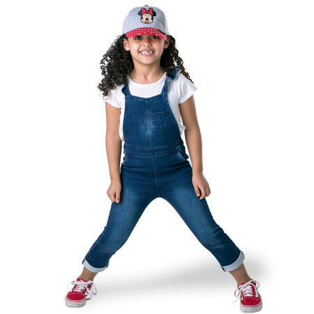 Disney Minnie Mouse Heather Jersey Baseball Cap, Little Girls, Age 4-7 - The Accessories Outlet