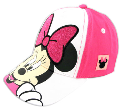 Disney Minnie Mouse Character Baseball Cap, Toddler Girls, Age 2-4 - The Accessories Outlet