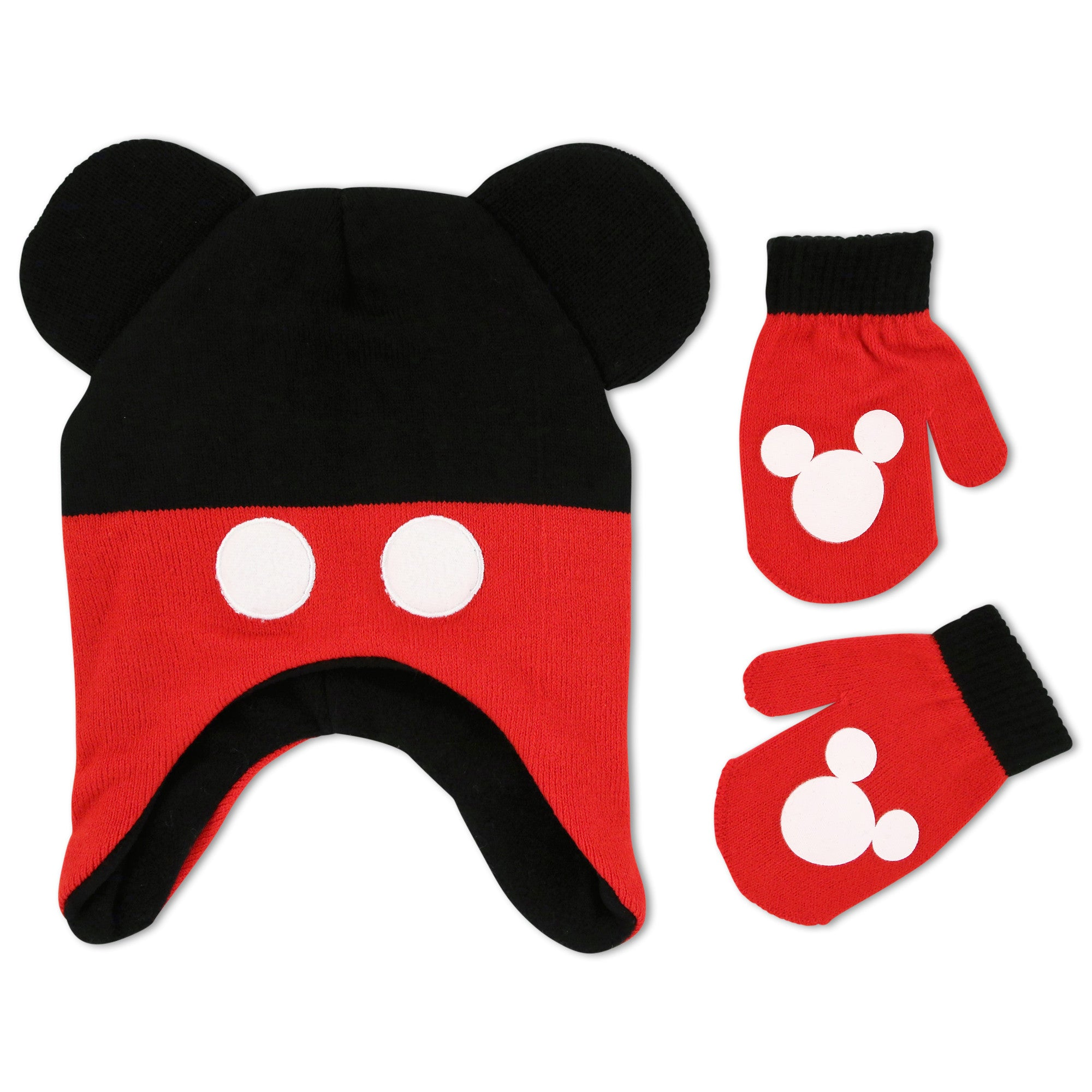 fb04411ad27 Disney Mickey Mouse Clubhouse Hat and Mitten Cold Weather Set ...