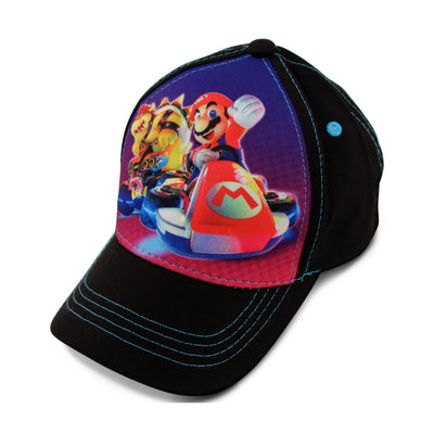 Nintendo Mario Kart Character 3D Pop Baseball Cap, Toddler Boys Age 2-4 - The Accessories Outlet