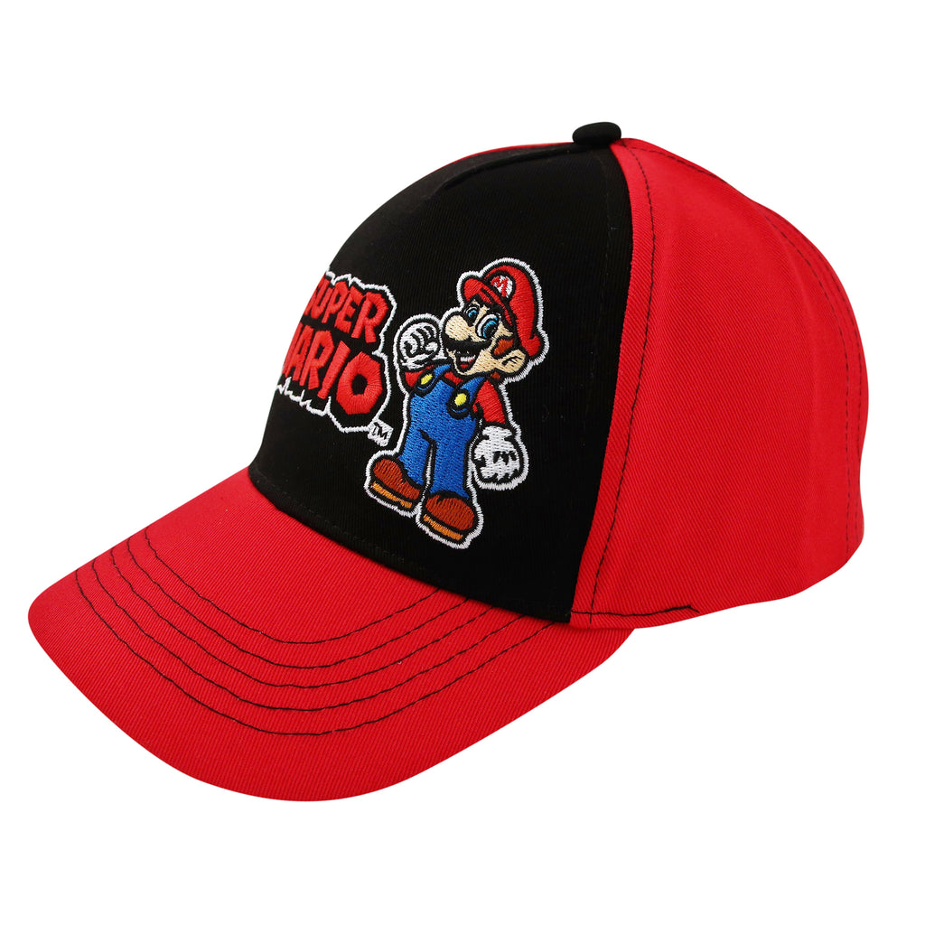 Nintendo Super Mario Character Baseball Cap, Little Boys, Age 4-7 - The Accessories Outlet