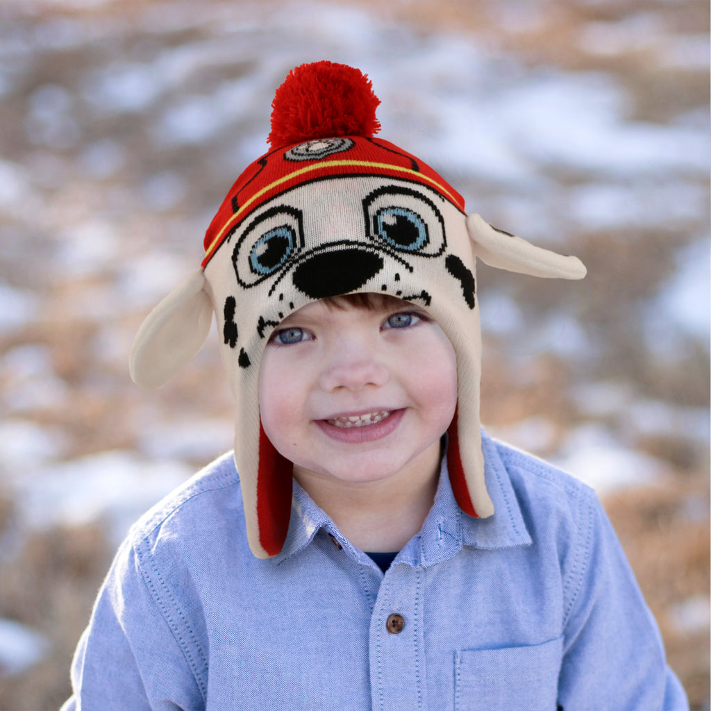d3a620e82 Nickelodeon Paw Patrol Hat and Mittens Cold Weather Set, Toddler Boys, Age  2-4