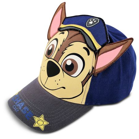 Nickelodeon Paw Patrol Chase Cotton Baseball Cap, Toddler Boys, Age 2-4 - Accessory Place