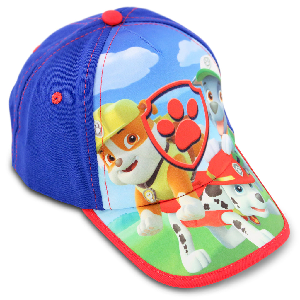 Nickelodeon Paw Patrol Character Cotton Baseball Cap, Toddler Boys, Age 2-4 - The Accessories Outlet