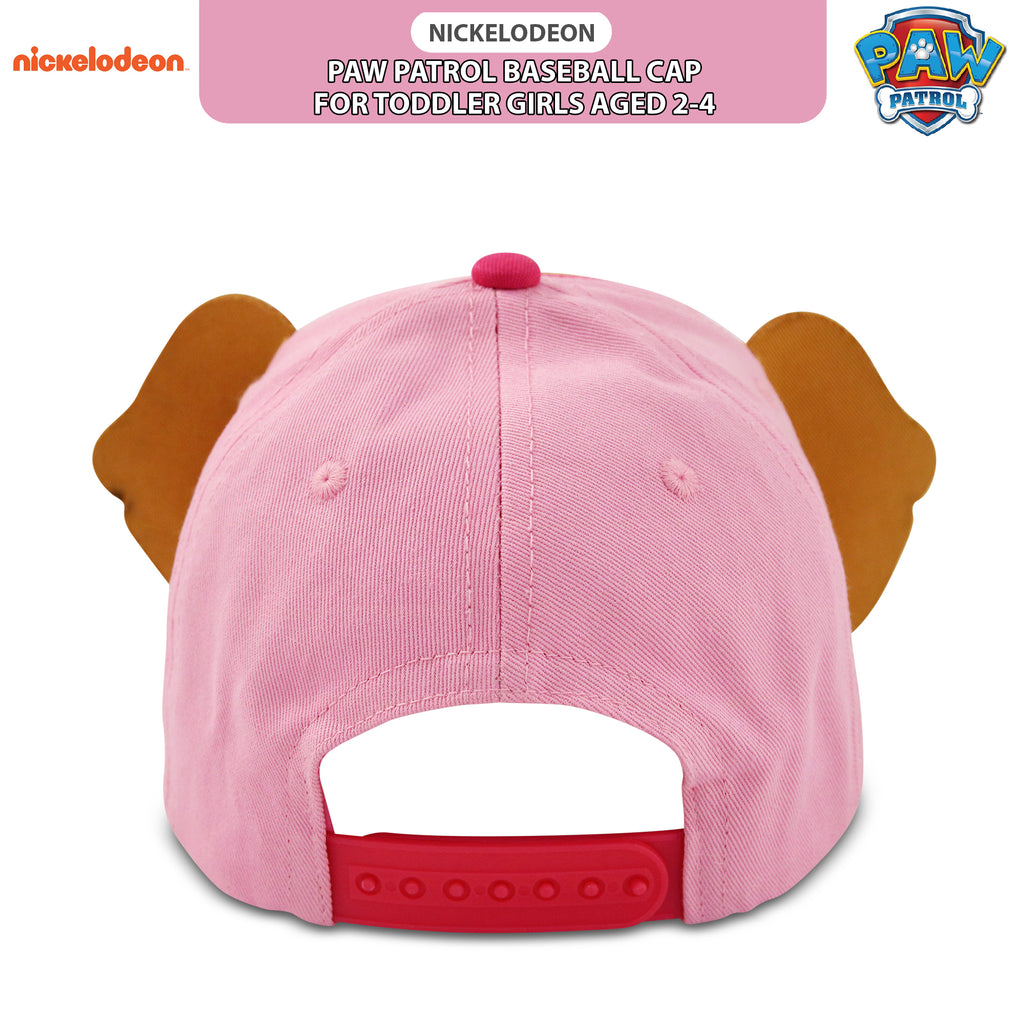 buy online 0bd89 9d526 Nickelodeon Paw Patrol Skye Character Cotton Baseball Cap, Toddler Girls,  Age 2-4