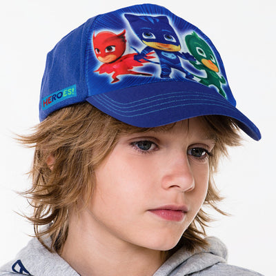 PJ Masks Little Boys Character 3D Pop Baseball Cap, Blue, Age 4-7 - The Accessories Outlet