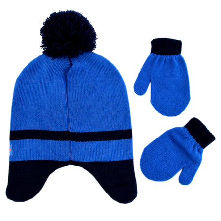 PJ Masks Assorted Characters Hat and Mittens Cold Weather Set, Toddler Boys, Age 2-4 - The Accessories Outlet