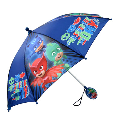 PJ Masks Little Boys Assorted Character Rainwear Umbrella, Age 3-7 - The Accessories Outlet
