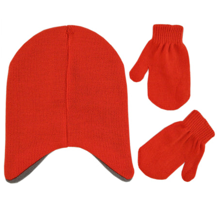 Sesame Street Elmo Hat and Mittens Cold Weather Set, Toddler Boys, Age 2-4