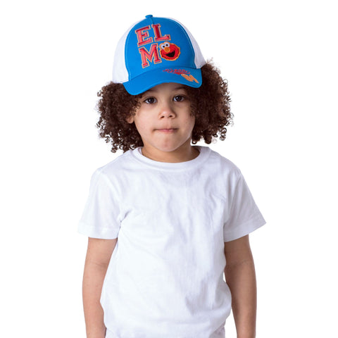 Sesame Street Elmo Baseball Cap, Toddler Boys, Age 2-4 - The Accessories Outlet
