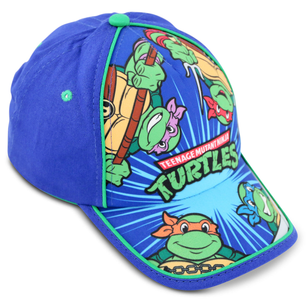 Nickelodeon's TMNT Cotton Baseball Cap, Toddler Boys, Age 2-4 - Accessory Place