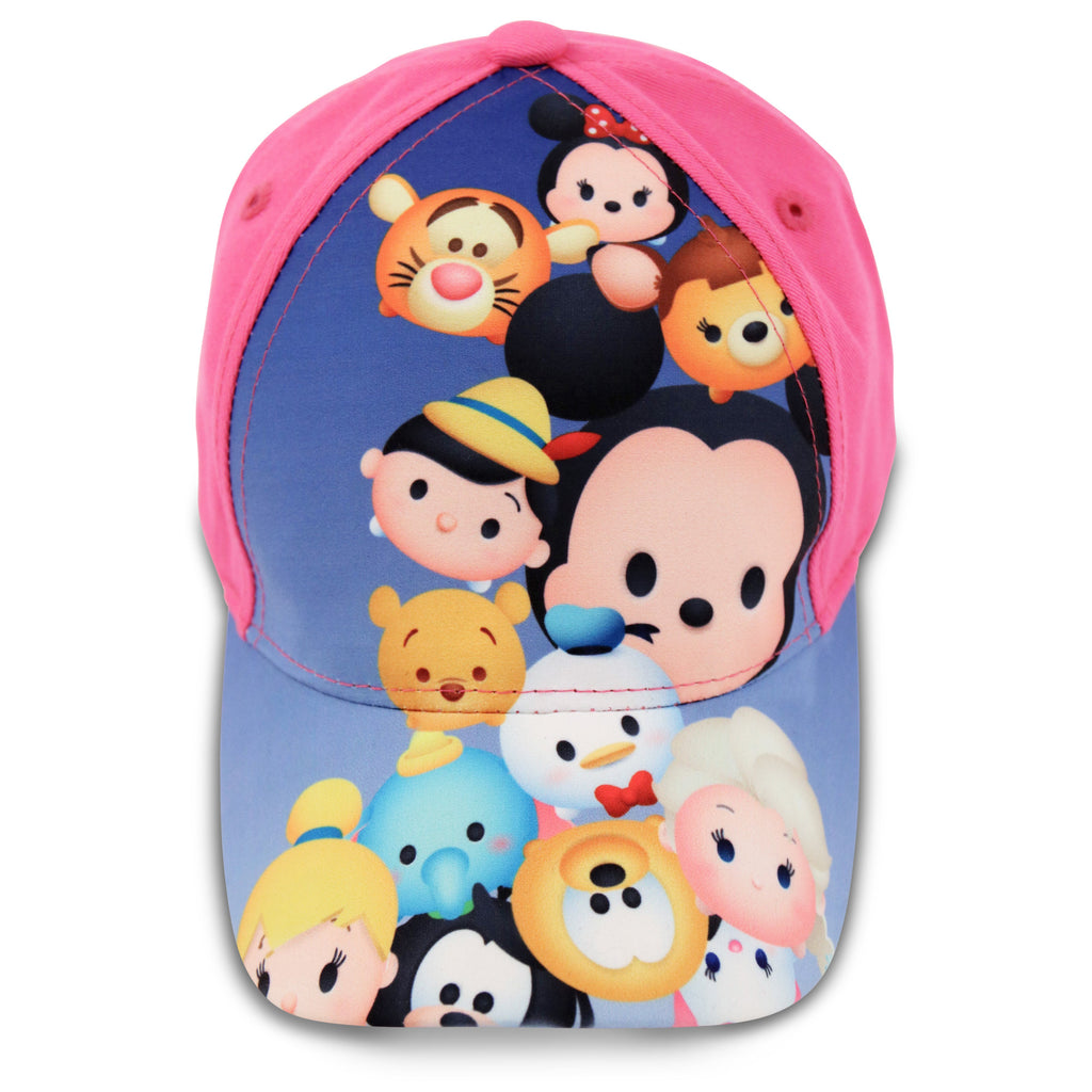 Disney Tsum Tsum Characters Cotton Baseball Cap, Little Girls, Age 4-7 - The Accessories Outlet