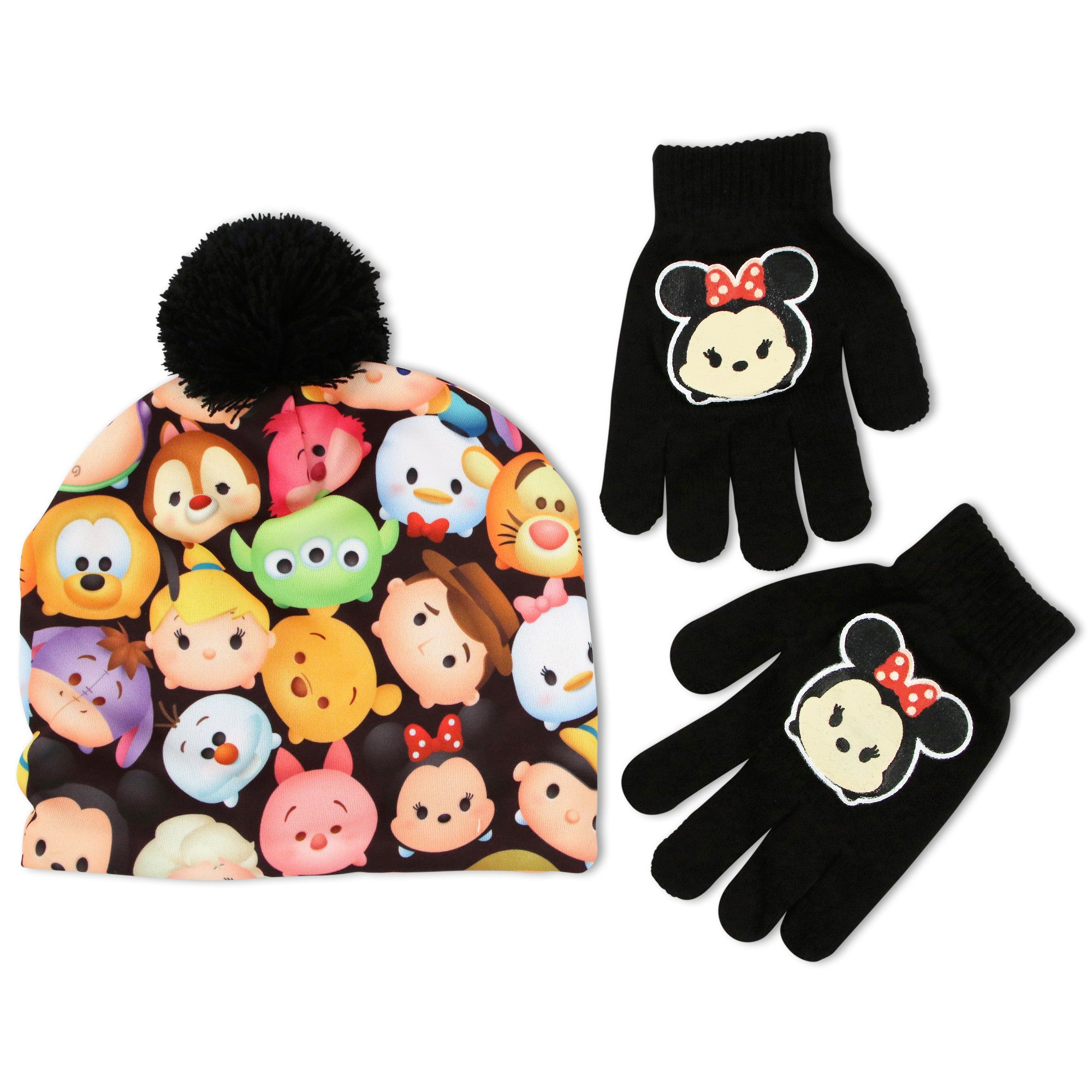 6baebf8ad8f Disney Tsum Tsum Beanie Hat and Glove Set