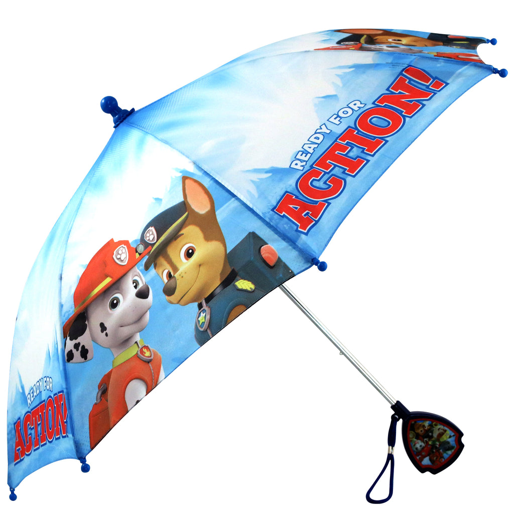 Nickelodeon Paw Patrol Slicker and Umbrella Set, Toddler and Little Boys, Age 2-7 - The Accessories Outlet