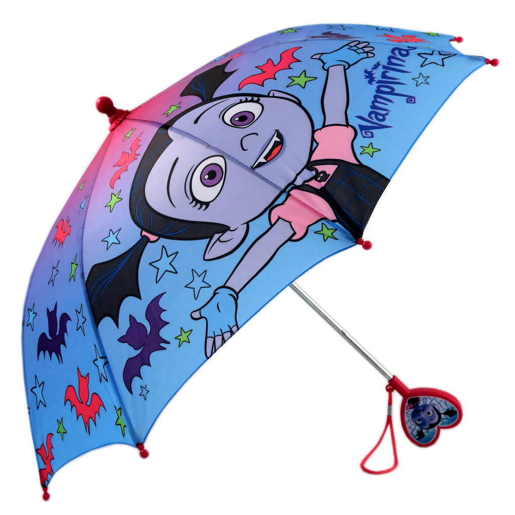Disney Vampirina Slicker and Umbrella Rainwear Set, Little Girls, Age 4-5 or 6-7 - The Accessories Outlet