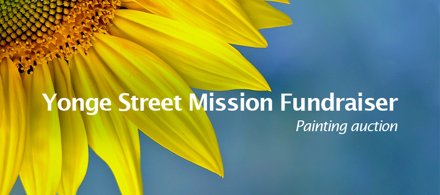 Painting Auction: Yonge Street Mission Fundraiser