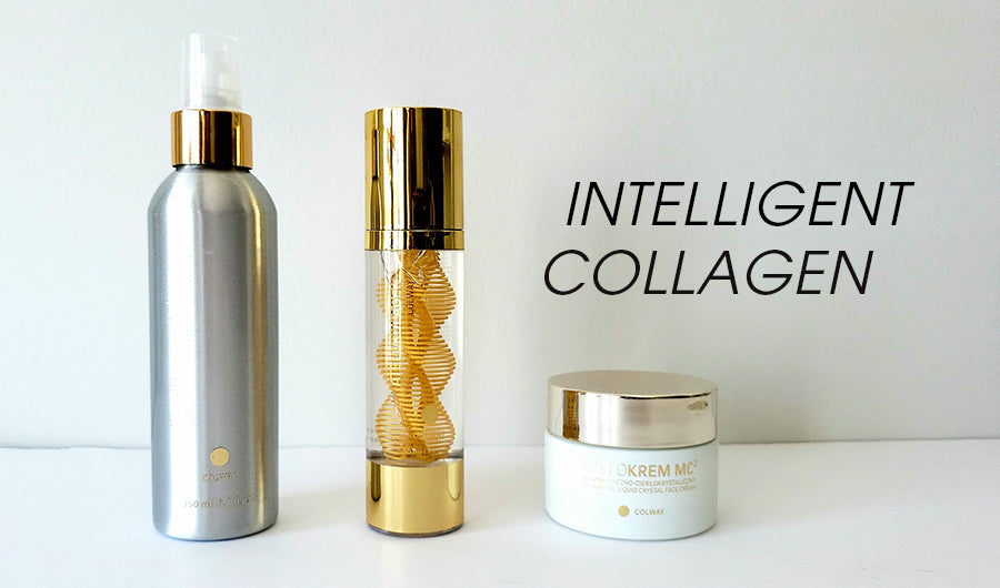 collagen serum application