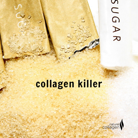 sugar - collagen killer