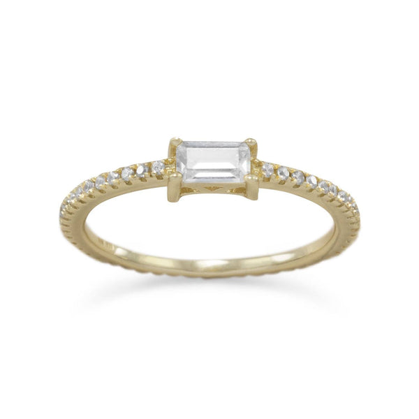 Rectangle CZ Ring | Brittono's Collection