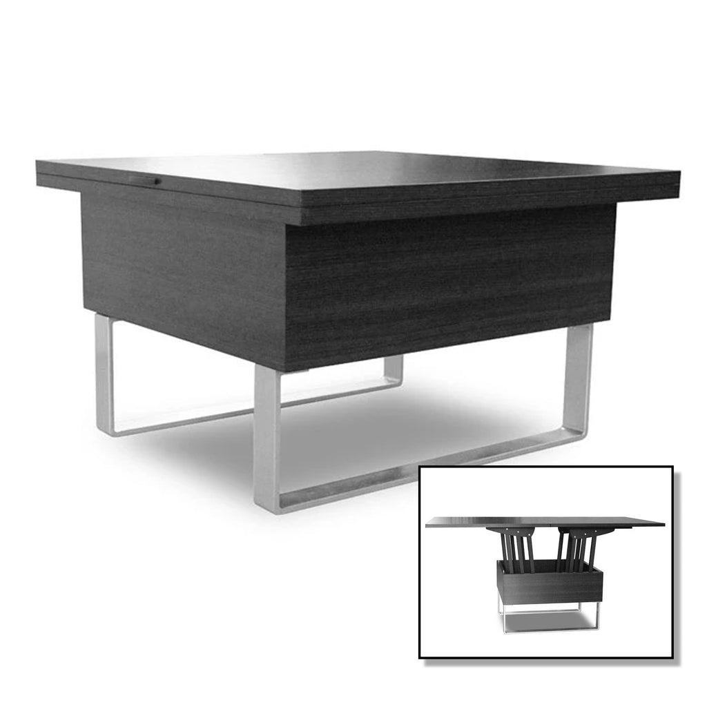 Picture of: Milan Convertible Coffee Dining Table Modern Sensibility Modern Sensibility Smarter Furniture