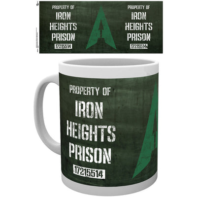 Arrow Iron Heights Prison Mug - Knowhere Comics