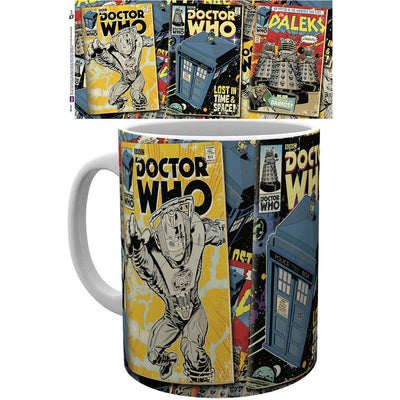 Doctor Who Comic Panel Mug - Knowhere Comics