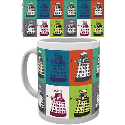 Doctor Who Pop Art Mug - Knowhere Comics