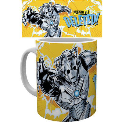 Doctor Who Cybermen Mug - Knowhere Comics