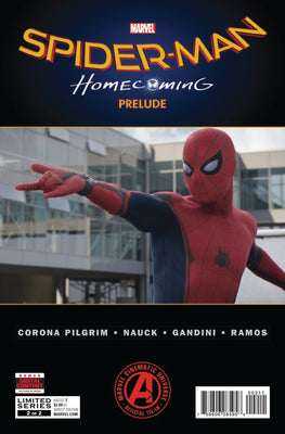 Spider-Man Homecoming Prelude #2 (of 2)
