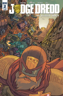 Judge Dredd Blessed Earth #2