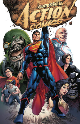Superman Action Comics Rebirth Deluxe Collection HC Book 01