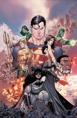 Justice League Rebirth Deluxe Collection HC Book 01