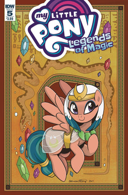 MY LITTLE PONY LEGENDS OF MAGIC #5 (CVR A HICKEY)