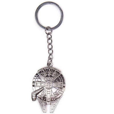 Star Wars Millennium Falcon Metal Key Ring - Knowhere Comics