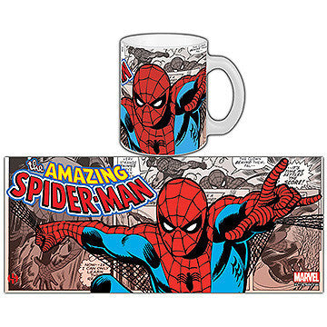 Marvel Comics Retro Mug Spider-Man - Knowhere Comics