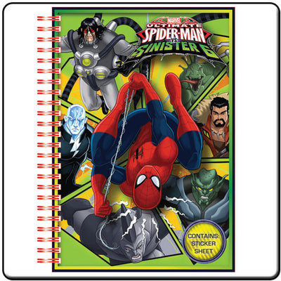 Spider-Man Vs The Sinister 6 A5 Notebook - Knowhere Comics
