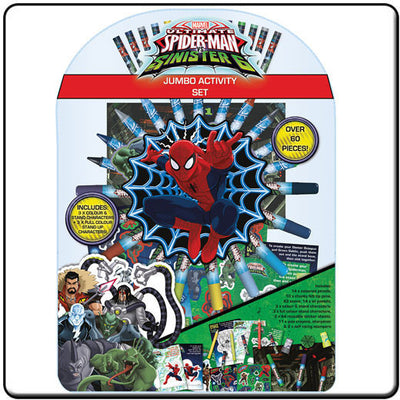 Spider-Man - The Sinister 6 Jumbo Activity Set - Knowhere Comics