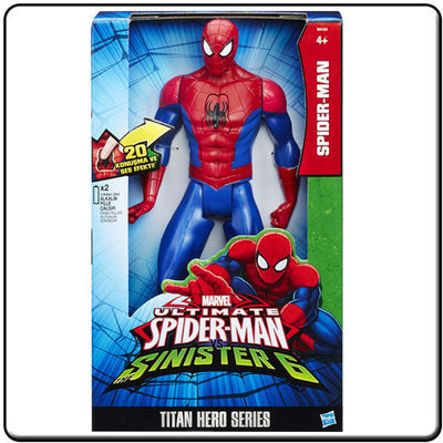 Titan Hero Series Electronic Figure Spider-Man - Knowhere Comics