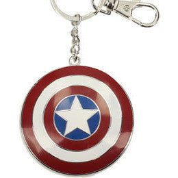 Marvel Comics Captain America Logo Metal Keychain 7cm - Knowhere Comics