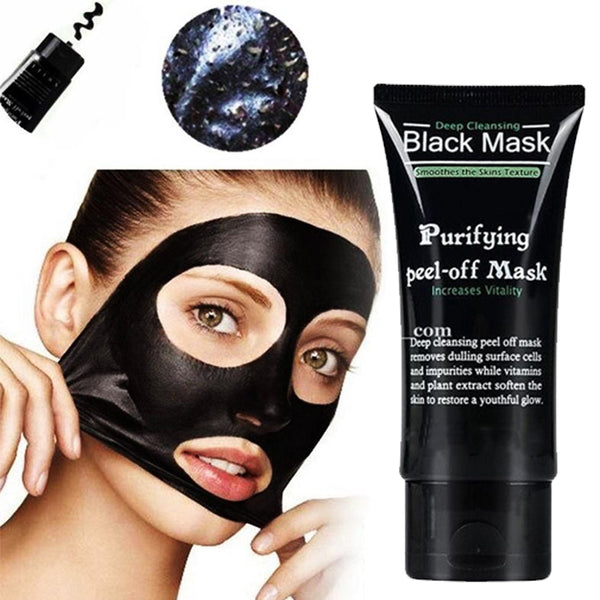 Diy Activated Charcoal Mask To Draw Out Deep Dwelling Pore: Blackhead Pore Removal Peel-off Facial Mask