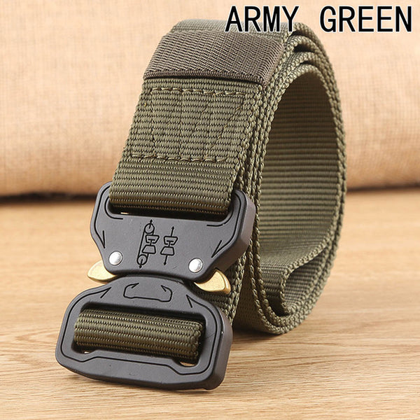 Quick Release, Heavy Duty Tactical Belt