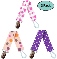 Pacifier Clips for Girls