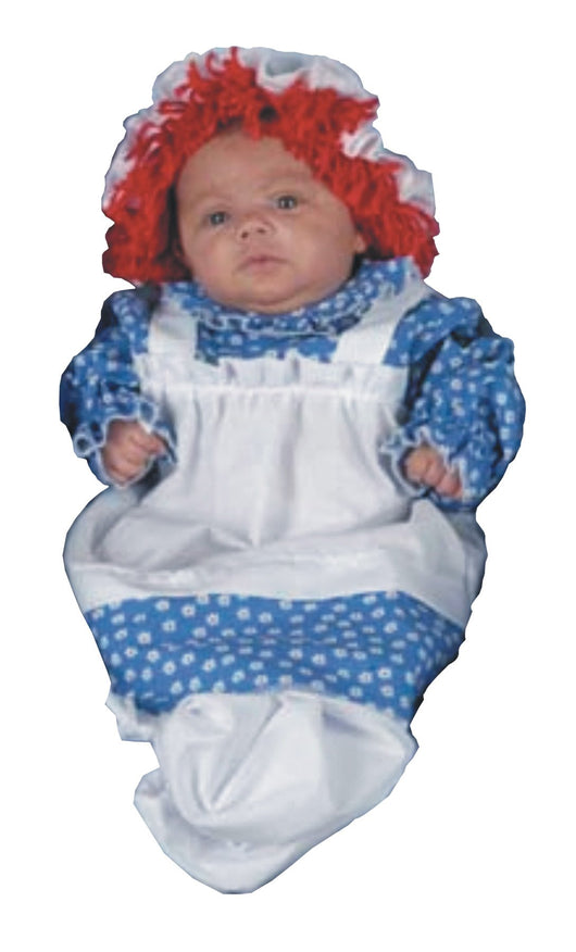 Raggedy Ann Baby Bunting Costume