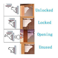 Load image into Gallery viewer, 16 Magnetic Cabinet Locks and 4 Keys | 24 Clear Corner Guards Combo - EliteBaby