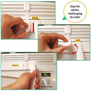 8 Magnetic Locks and 2 Keys | 8 Child Safety Locks Combo - EliteBaby