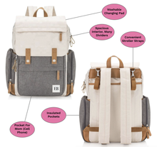 Load image into Gallery viewer, Baby Diaper Bag Backpack