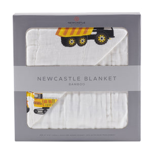 Yellow Digger and White Newcastle Blanket