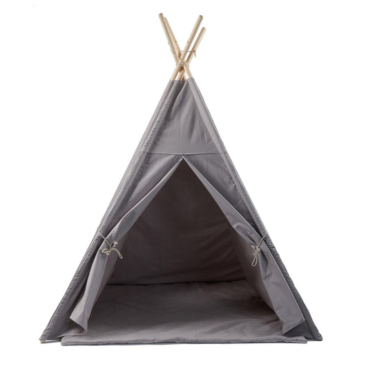 Gray Teepee with Mat