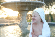 Load image into Gallery viewer, Ocean Hooded Towel and Washcloth Set